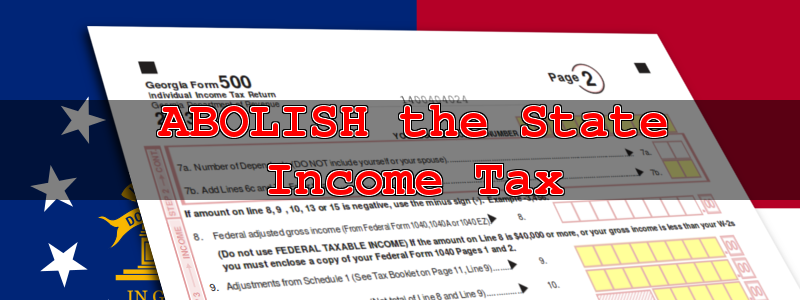 Abolish the State Income Tax