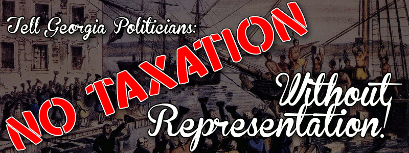 End Taxation Without Representation