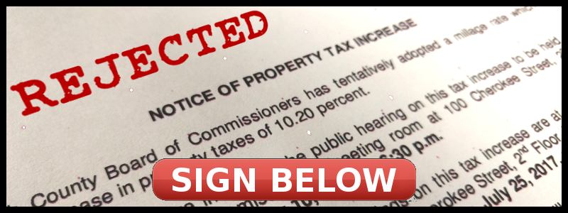 Stop the Fulton Property Tax Hike!